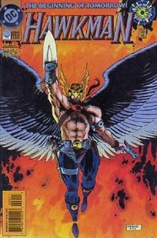 Cover of Hawkman (Vol 3) #0. One of 250,000 Vintage American Comics on sale from Krypton!