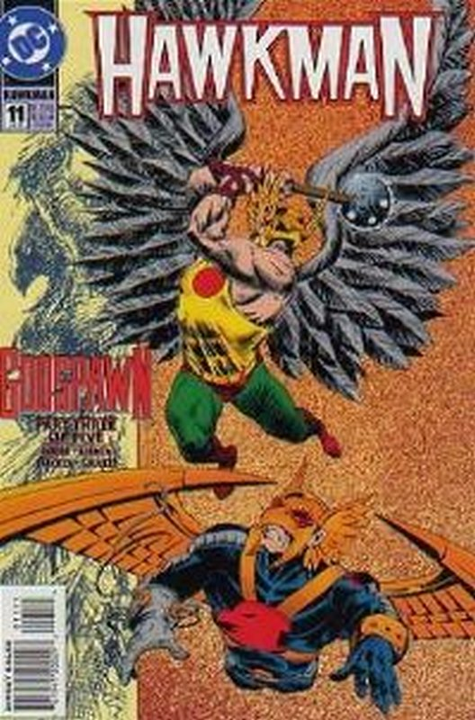 Cover of Hawkman (Vol 3) #11. One of 250,000 Vintage American Comics on sale from Krypton!