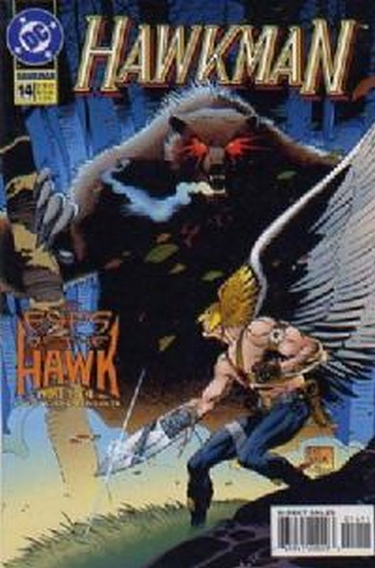 Cover of Hawkman (Vol 3) #14. One of 250,000 Vintage American Comics on sale from Krypton!