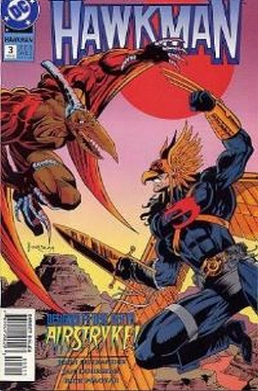 Cover of Hawkman (Vol 3) #3. One of 250,000 Vintage American Comics on sale from Krypton!