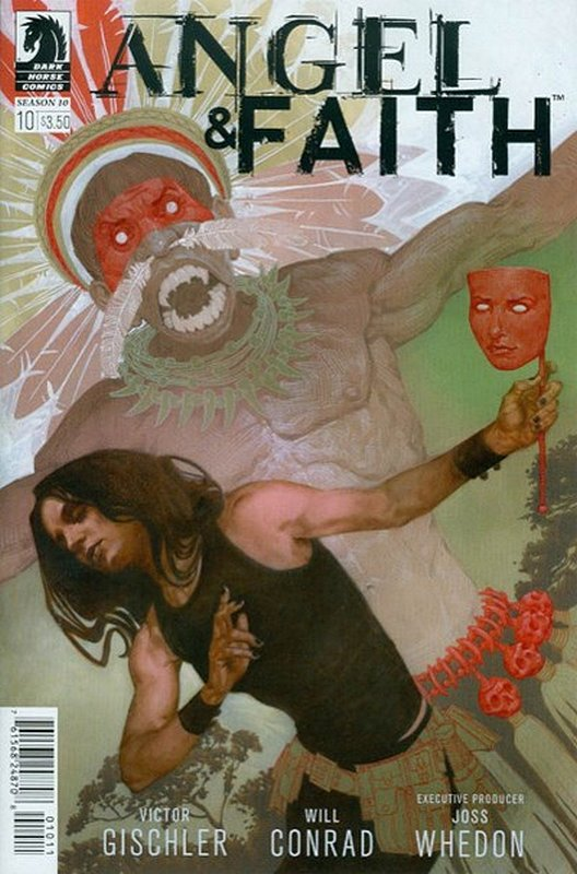 Cover of Angel & Faith: Season 10 #10. One of 250,000 Vintage American Comics on sale from Krypton!