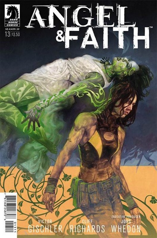 Cover of Angel & Faith: Season 10 #13. One of 250,000 Vintage American Comics on sale from Krypton!