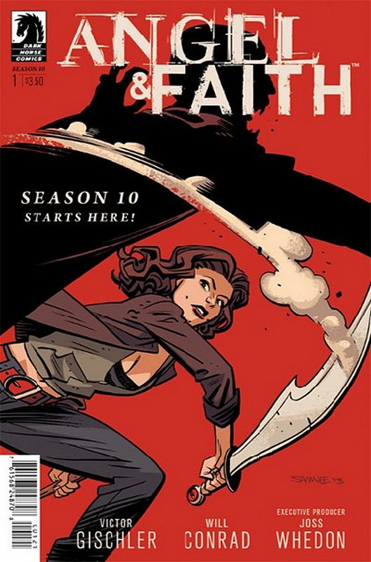 Cover of Angel & Faith: Season 10 #1. One of 250,000 Vintage American Comics on sale from Krypton!