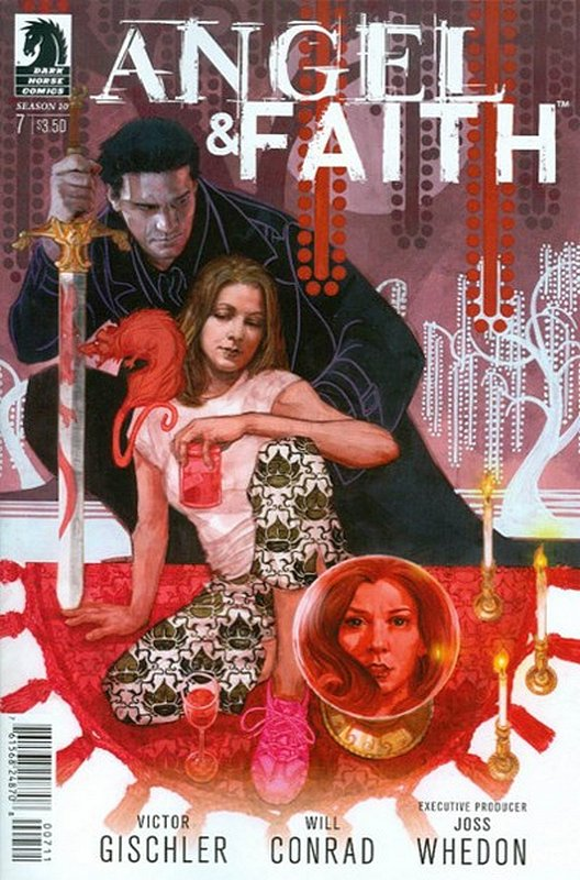 Cover of Angel & Faith: Season 10 #7. One of 250,000 Vintage American Comics on sale from Krypton!