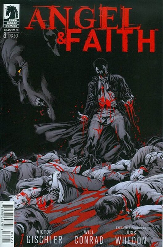 Cover of Angel & Faith: Season 10 #8. One of 250,000 Vintage American Comics on sale from Krypton!