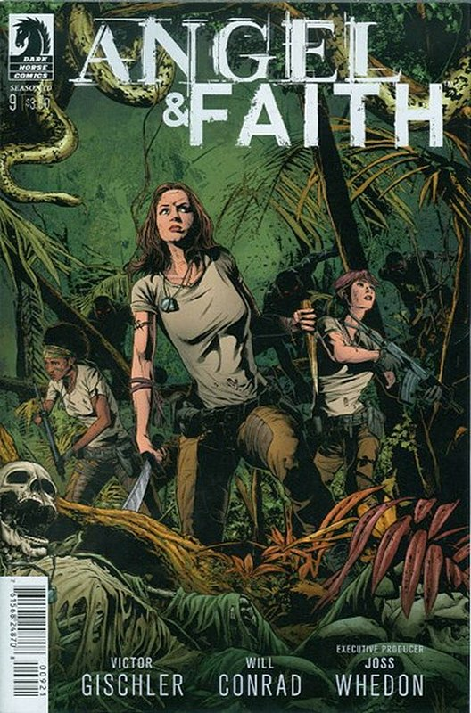 Cover of Angel & Faith: Season 10 #9. One of 250,000 Vintage American Comics on sale from Krypton!