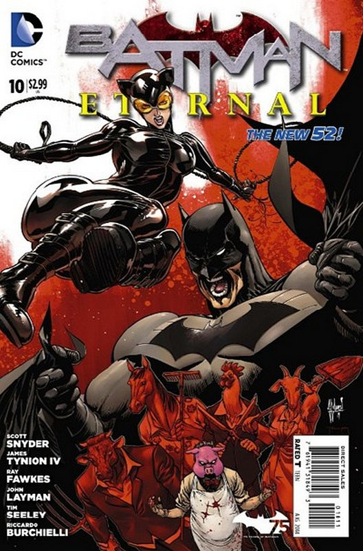 Cover of Batman: Eternal (Vol 1) #10. One of 250,000 Vintage American Comics on sale from Krypton!
