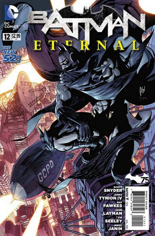 Cover of Batman: Eternal (Vol 1) #12. One of 250,000 Vintage American Comics on sale from Krypton!
