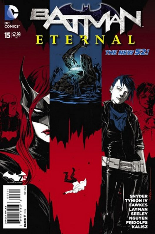 Cover of Batman: Eternal (Vol 1) #15. One of 250,000 Vintage American Comics on sale from Krypton!