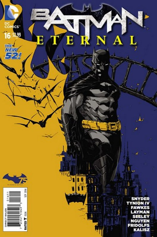 Cover of Batman: Eternal (Vol 1) #16. One of 250,000 Vintage American Comics on sale from Krypton!