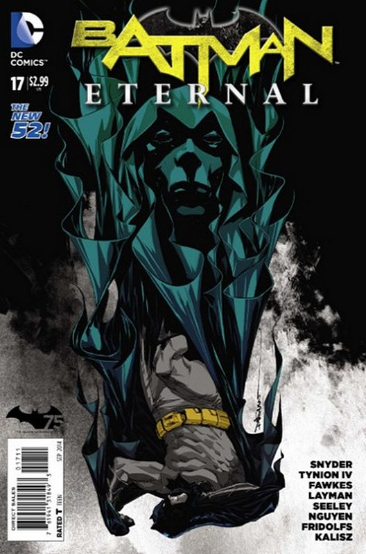 Cover of Batman: Eternal (Vol 1) #17. One of 250,000 Vintage American Comics on sale from Krypton!