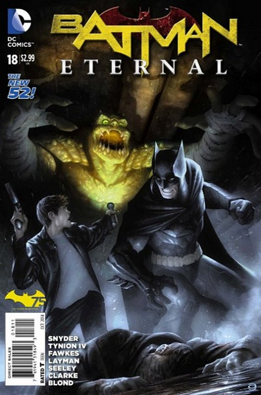Cover of Batman: Eternal (Vol 1) #18. One of 250,000 Vintage American Comics on sale from Krypton!