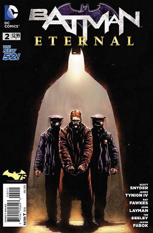 Cover of Batman: Eternal (Vol 1) #2. One of 250,000 Vintage American Comics on sale from Krypton!