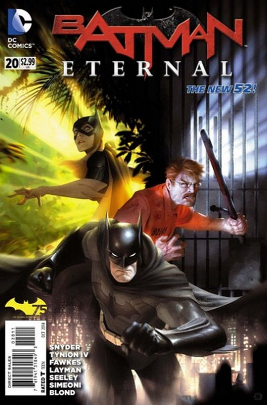 Cover of Batman: Eternal (Vol 1) #20. One of 250,000 Vintage American Comics on sale from Krypton!