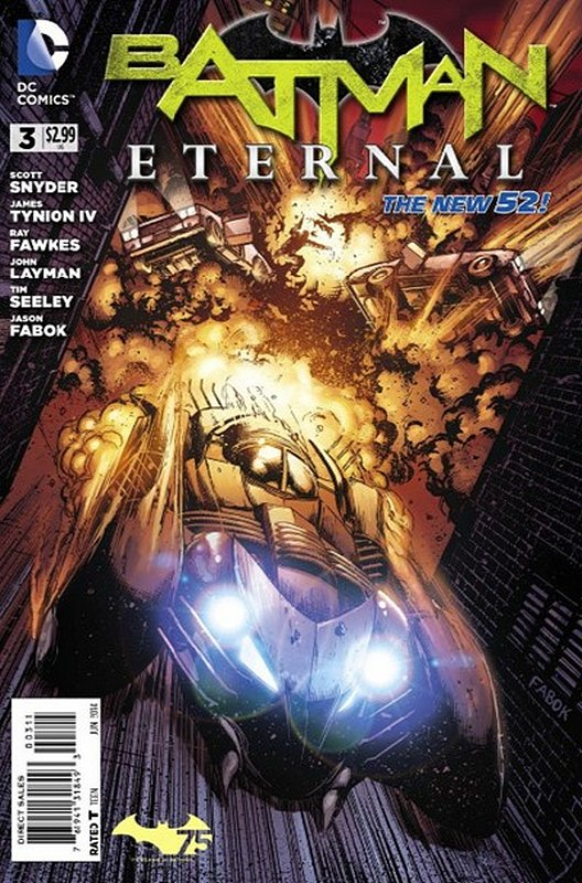 Cover of Batman: Eternal (Vol 1) #3. One of 250,000 Vintage American Comics on sale from Krypton!