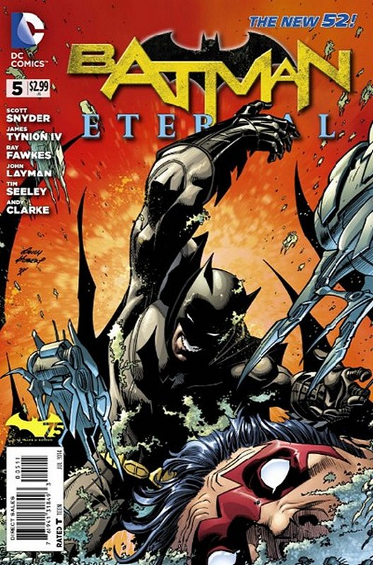 Cover of Batman: Eternal (Vol 1) #5. One of 250,000 Vintage American Comics on sale from Krypton!