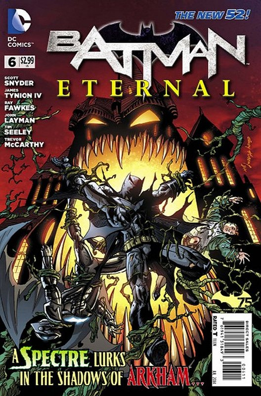 Cover of Batman: Eternal (Vol 1) #6. One of 250,000 Vintage American Comics on sale from Krypton!