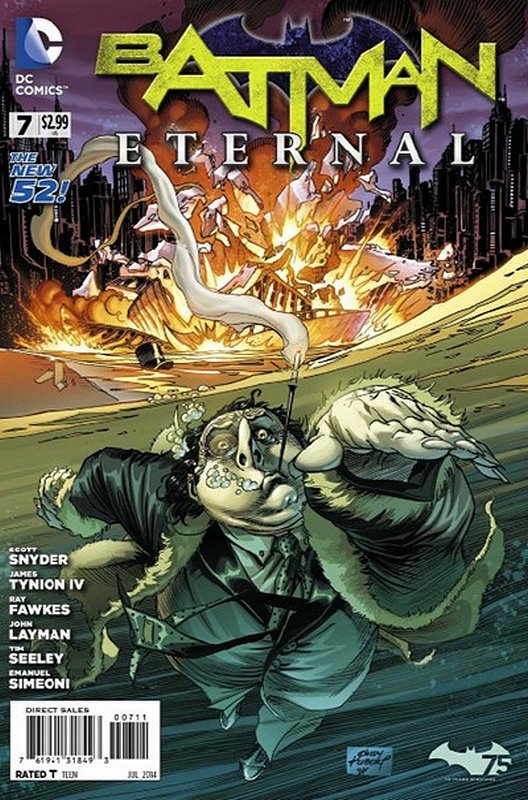 Cover of Batman: Eternal (Vol 1) #7. One of 250,000 Vintage American Comics on sale from Krypton!