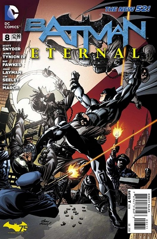 Cover of Batman: Eternal (Vol 1) #8. One of 250,000 Vintage American Comics on sale from Krypton!