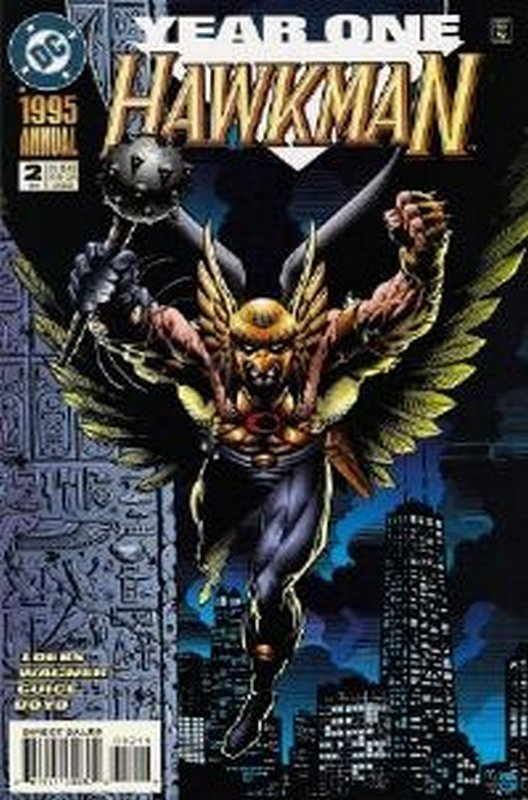 Cover of Hawkman Annual #2. One of 250,000 Vintage American Comics on sale from Krypton!