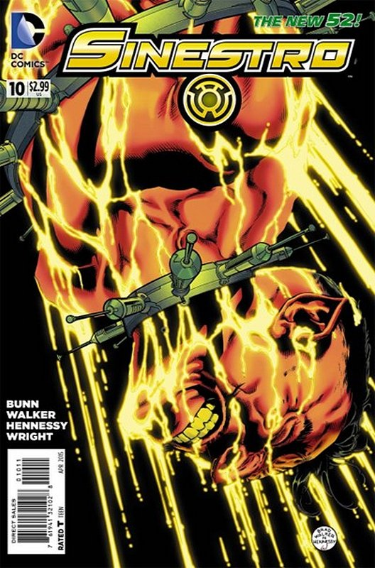 Cover of Sinestro (Vol 1) #10. One of 250,000 Vintage American Comics on sale from Krypton!