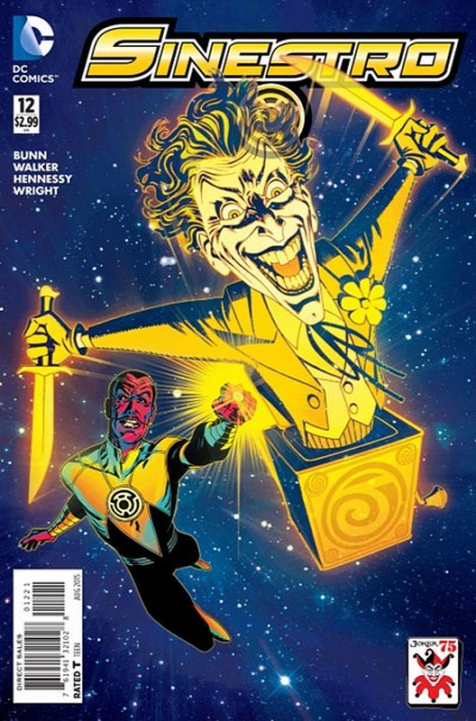 Cover of Sinestro (Vol 1) #12. One of 250,000 Vintage American Comics on sale from Krypton!