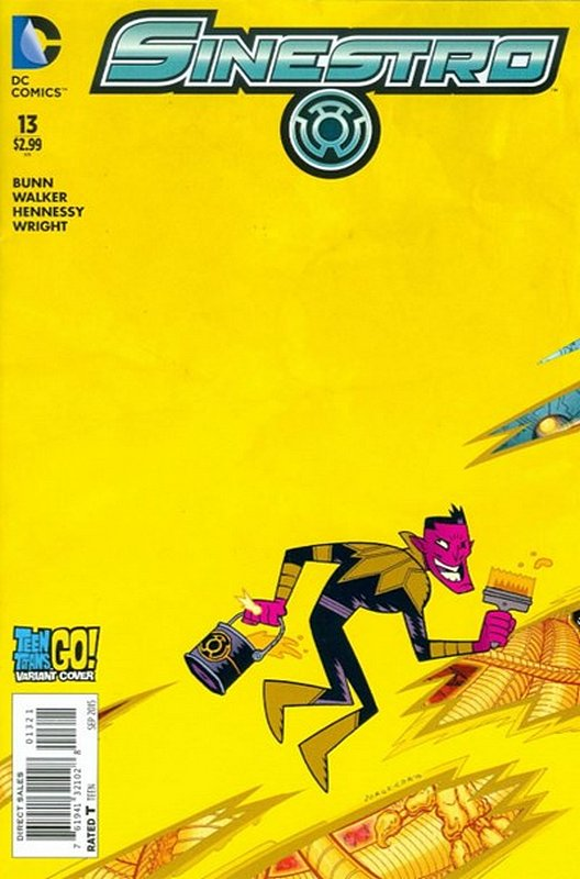 Cover of Sinestro (Vol 1) #13. One of 250,000 Vintage American Comics on sale from Krypton!