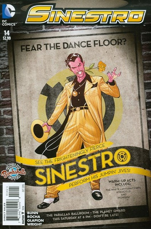 Cover of Sinestro (Vol 1) #14. One of 250,000 Vintage American Comics on sale from Krypton!