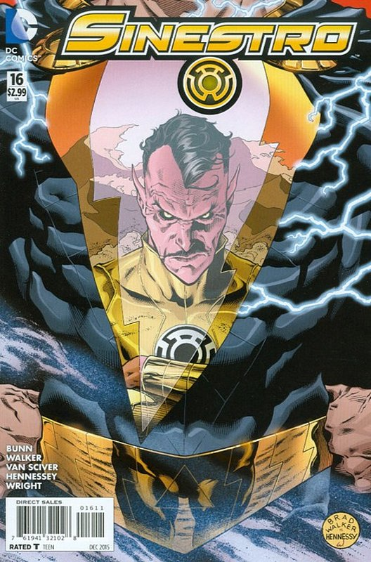 Cover of Sinestro (Vol 1) #16. One of 250,000 Vintage American Comics on sale from Krypton!