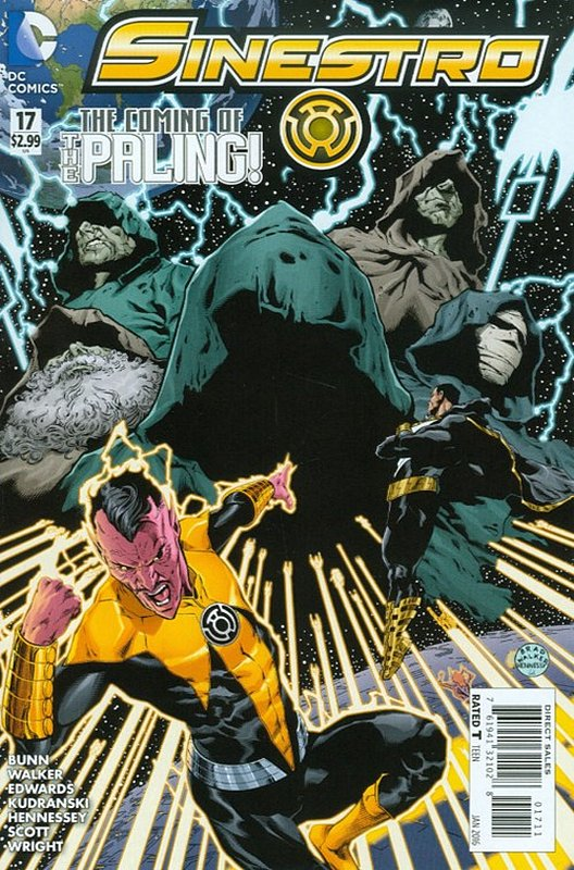 Cover of Sinestro (Vol 1) #17. One of 250,000 Vintage American Comics on sale from Krypton!