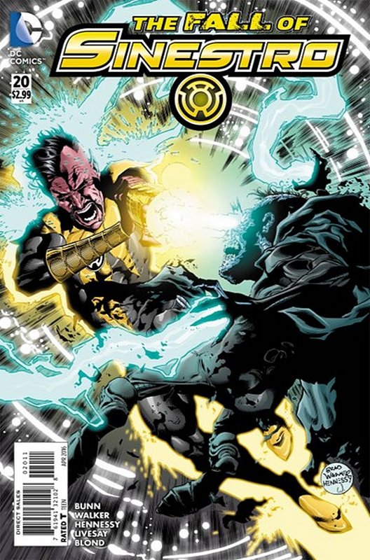 Cover of Sinestro (Vol 1) #20. One of 250,000 Vintage American Comics on sale from Krypton!