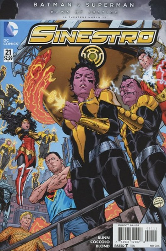 Cover of Sinestro (Vol 1) #21. One of 250,000 Vintage American Comics on sale from Krypton!