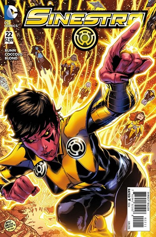 Cover of Sinestro (Vol 1) #22. One of 250,000 Vintage American Comics on sale from Krypton!