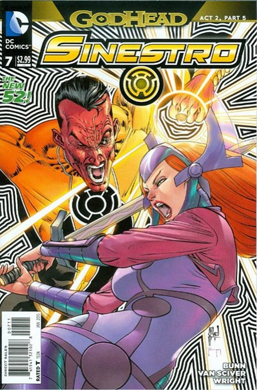 Cover of Sinestro (Vol 1) #7. One of 250,000 Vintage American Comics on sale from Krypton!