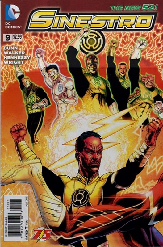 Cover of Sinestro (Vol 1) #9. One of 250,000 Vintage American Comics on sale from Krypton!