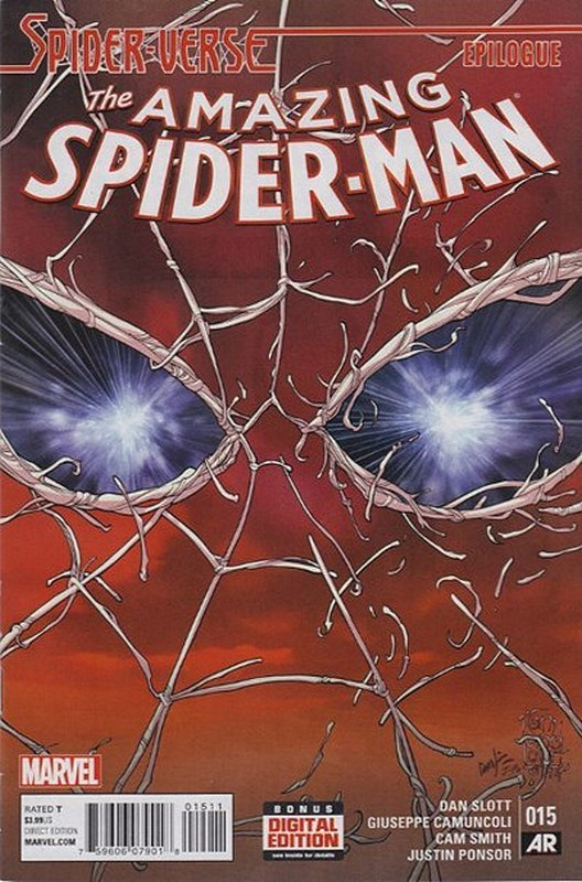 Cover of Amazing Spider-Man (Vol 3) #15. One of 250,000 Vintage American Comics on sale from Krypton!