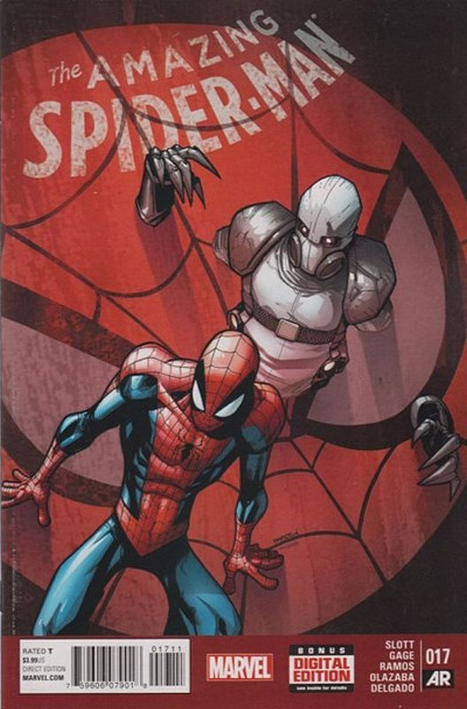 Cover of Amazing Spider-Man (Vol 3) #17. One of 250,000 Vintage American Comics on sale from Krypton!