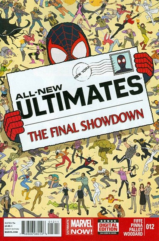 Cover of Ultimates, All-New (Vol 1) #12. One of 250,000 Vintage American Comics on sale from Krypton!