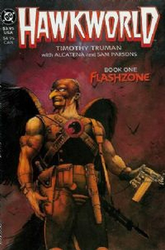 Cover of Hawkworld (1989 Ltd) #1. One of 250,000 Vintage American Comics on sale from Krypton!
