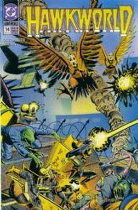 Cover of Hawkworld (Vol 1) #14. One of 250,000 Vintage American Comics on sale from Krypton!