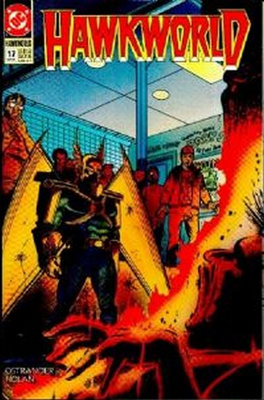 Cover of Hawkworld (Vol 1) #17. One of 250,000 Vintage American Comics on sale from Krypton!