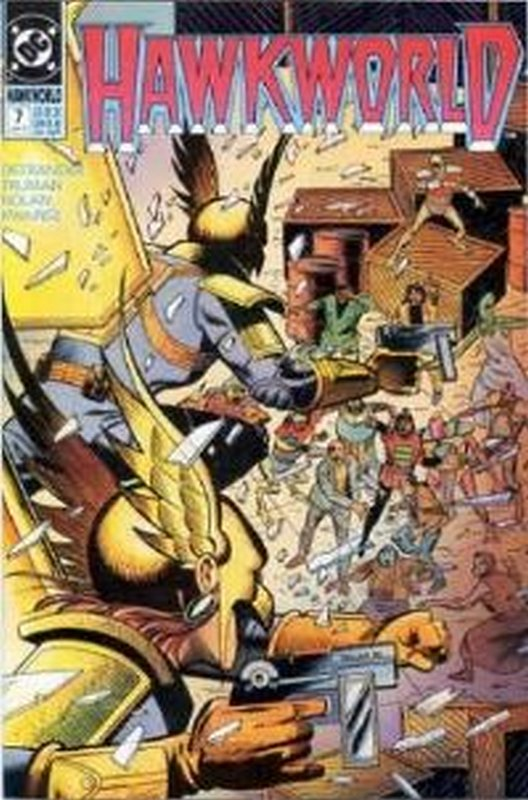 Cover of Hawkworld (Vol 1) #7. One of 250,000 Vintage American Comics on sale from Krypton!