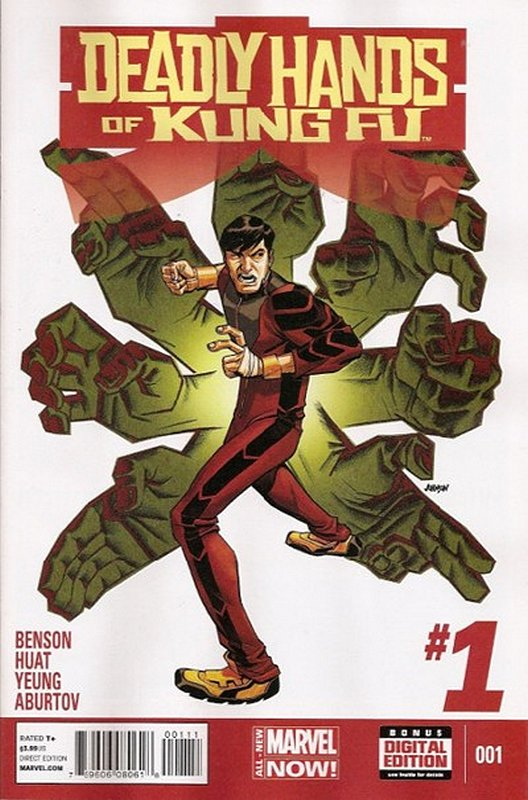Cover of Deadly Hands of Kung Fu (2014 Ltd) #1. One of 250,000 Vintage American Comics on sale from Krypton!
