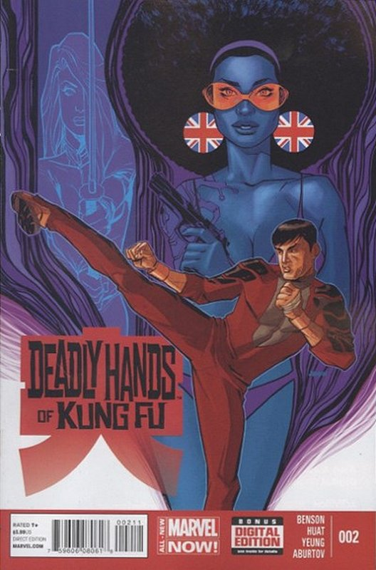 Cover of Deadly Hands of Kung Fu (2014 Ltd) #2. One of 250,000 Vintage American Comics on sale from Krypton!