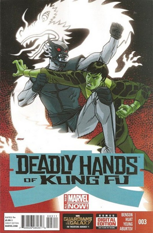 Cover of Deadly Hands of Kung Fu (2014 Ltd) #3. One of 250,000 Vintage American Comics on sale from Krypton!