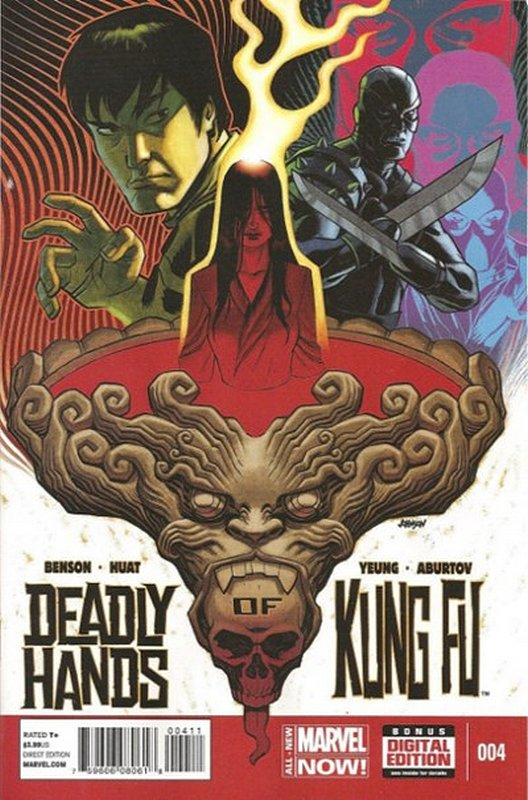 Cover of Deadly Hands of Kung Fu (2014 Ltd) #4. One of 250,000 Vintage American Comics on sale from Krypton!