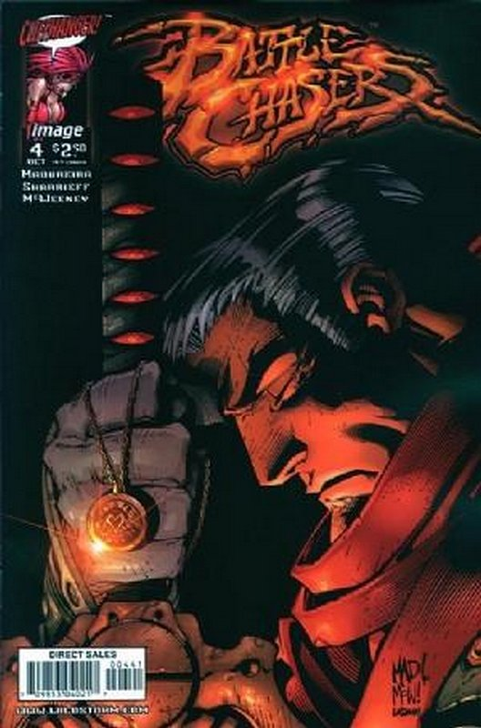 Cover of Battle Chasers (Vol 1) #4. One of 250,000 Vintage American Comics on sale from Krypton!
