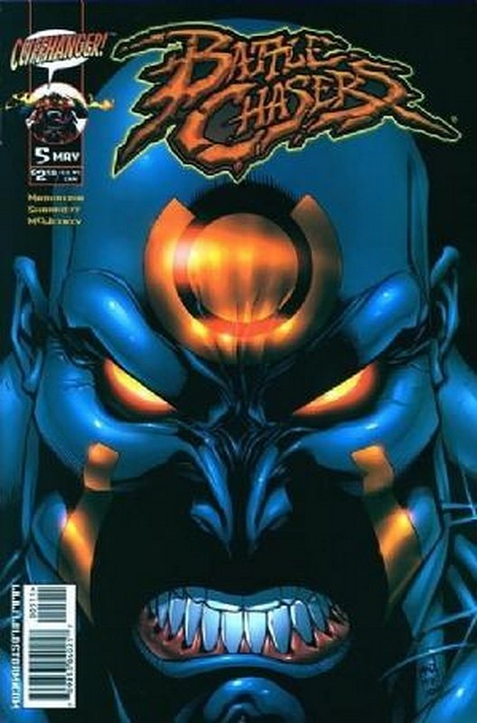 Cover of Battle Chasers (Vol 1) #5. One of 250,000 Vintage American Comics on sale from Krypton!