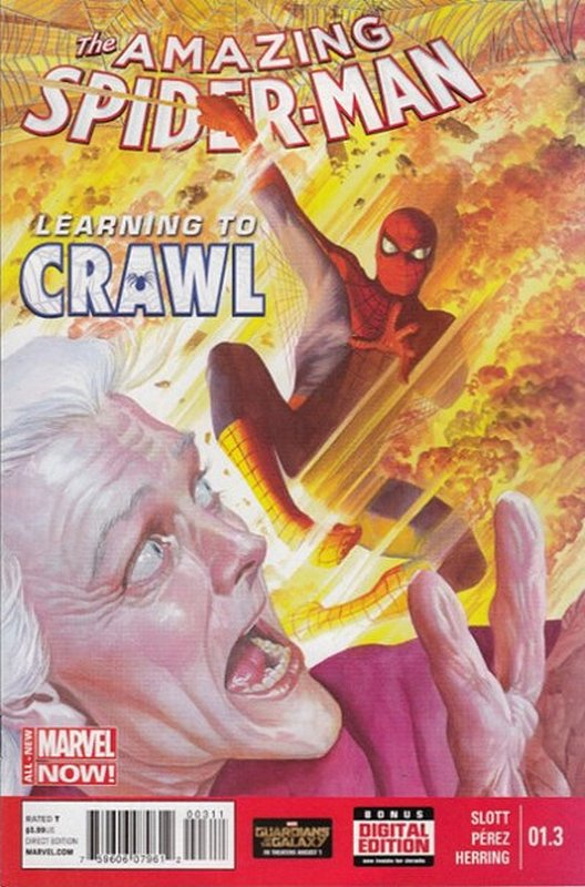Cover of Amazing Spider-Man: Learning to Crawl (2014 Ltd) #3. One of 250,000 Vintage American Comics on sale from Krypton!