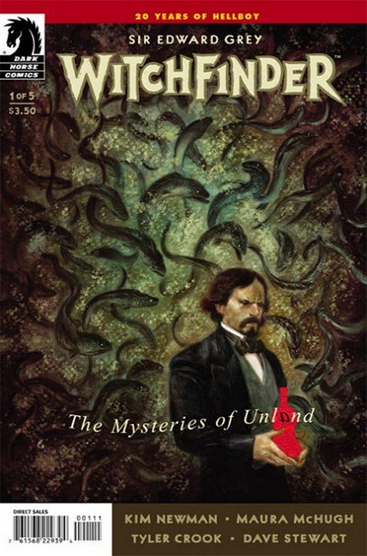 Cover of Witchfinder: Mysteries of Unland (2014 Ltd) #1. One of 250,000 Vintage American Comics on sale from Krypton!